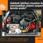 Adakah lebihan muatan boleh merosakkan sistem suspensi kereta anda?